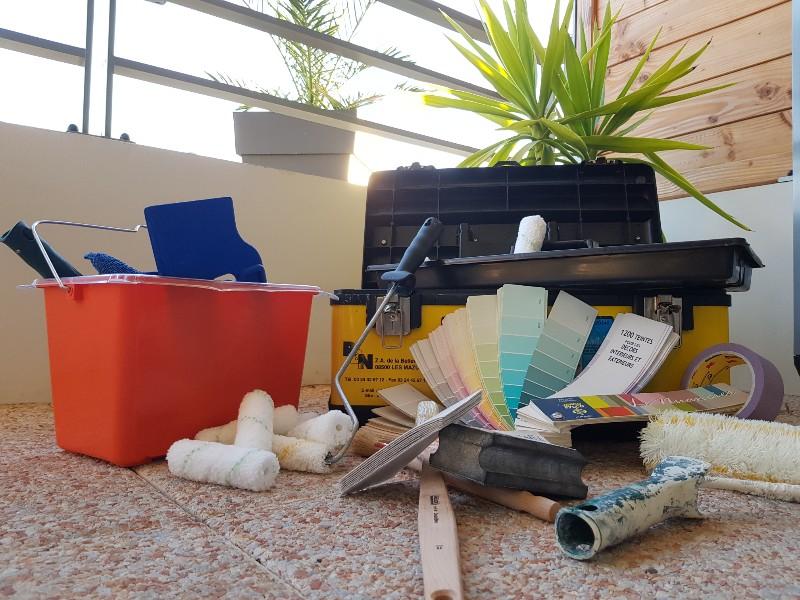 La caisse à outils du peintre